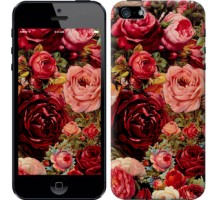 Чехол Цветущие розы для iPhone 5/5S/SE