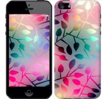 Чехол Листья для iPhone 5/5S/SE