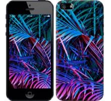 Чехол Папоротник под ультрафиолетом для iPhone 5/5S/SE