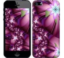 Чехол Цветочная мозаика для iPhone 5/5S/SE