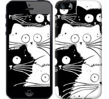 Чехол Коты v2 для iPhone 5/5S/SE