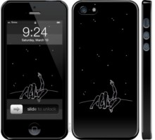 Чехол Романтика для iPhone 5/5S/SE