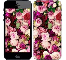 Чехол Розы и пионы для iPhone 5/5S/SE