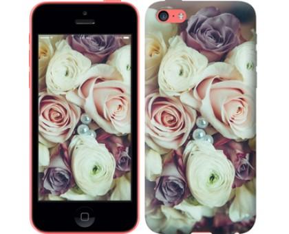 Чехол Букет роз для iPhone 5c