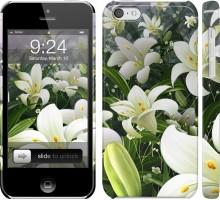Чехол Белые лилии для iPhone 5c