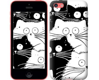 Чехол Коты v2 для iPhone 5c