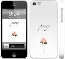 Чехол Пион для iPhone 5c