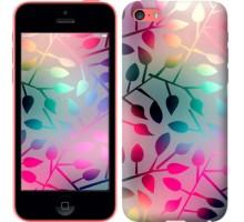 Чехол Листья для iPhone 5c