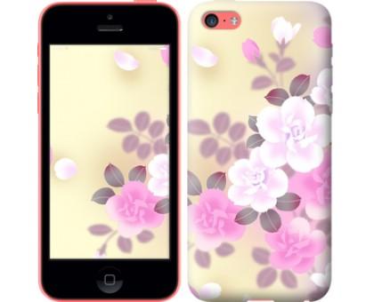 Чехол Японские цветы для iPhone 5c