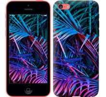 Чехол Папоротник под ультрафиолетом для iPhone 5c