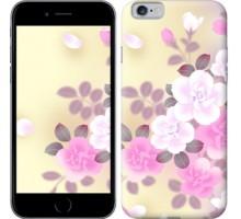 Чехол Японские цветы для iPhone 6/6s (4.7'')
