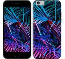 Чехол Папоротник под ультрафиолетом для iPhone 6/6s (4.7'')