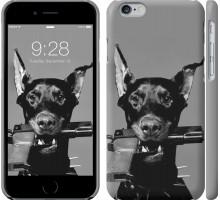 Чехол Доберман для iPhone 6/6s (4.7'')