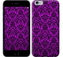 Чехол фиолетовый узор барокко для iPhone 6/6s (4.7'')