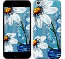 Чехол Красивые арт-ромашки для iPhone 6/6s (4.7'')