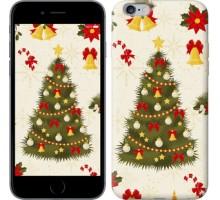 Чехол Новогодняя елка для iPhone 6 plus/6s plus (5.5'')
