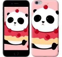 Чехол Панда с пончиком для iPhone 6 plus/6s plus (5.5'')