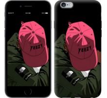 Чехол logo de yeezy для iPhone 6 plus/6s plus (5.5'')