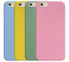 """Силиконовый чехол Candy для Apple iPhone 6/6s plus (5.5"""")"""