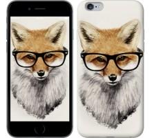 Чехол Лис в очках для iPhone 6 plus/6s plus (5.5'')