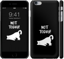 Чехол Уставший кот для iPhone 6 plus/6s plus (5.5'')