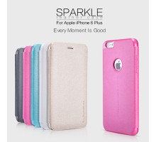 "Кожаный чехол (книжка) Nillkin Sparkle Series для Apple iPhone 6/6s plus (5.5"")"