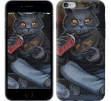 Чехол gamer cat для iPhone 6 plus/6s plus (5.5'')