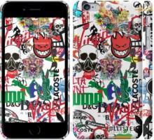 Чехол Many different logos для iPhone 6 plus/6s plus (5.5'')