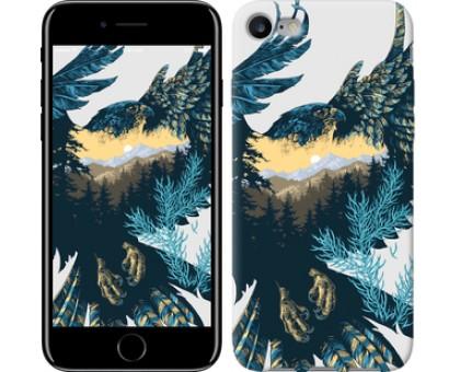 Чехол Арт-орел на фоне природы для iPhone 8 (4.7)