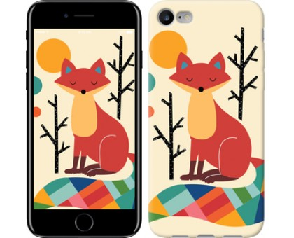 Чехол Rainbow fox для iPhone 8 (4.7)