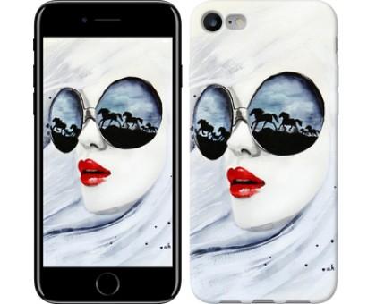 Чехол Девушка акварелью для iPhone 8 (4.7)