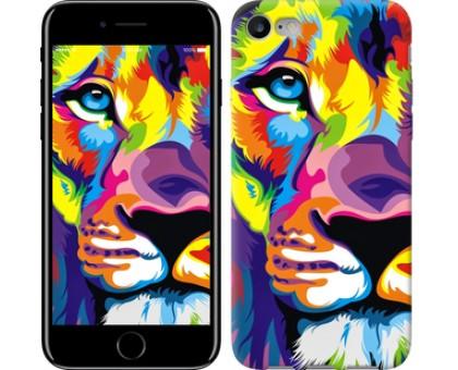 Чехол Разноцветный лев для iPhone 8 (4.7)