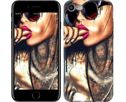 Чехол Девушка в тату для iPhone 8 (4.7)