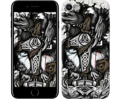 Чехол Тату Викинг для iPhone 8 (4.7)