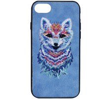 "TPU+PC чехол Embroider Animals Soft series для Apple iPhone 7 / 8 (4.7"")"