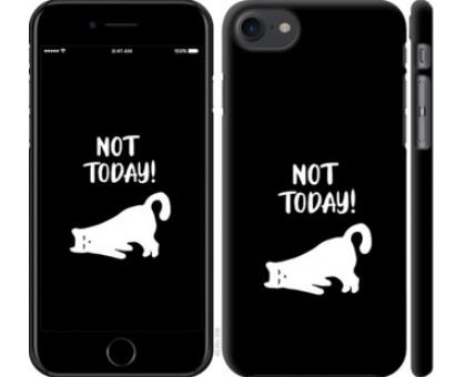 Чехол Уставший кот для iPhone 8 (4.7)