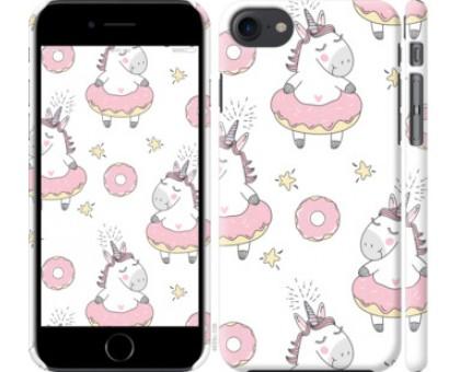 Чехол Единорожки для iPhone 8 (4.7)