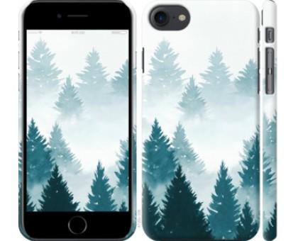 Чехол Акварельные Елки для iPhone 8 (4.7)