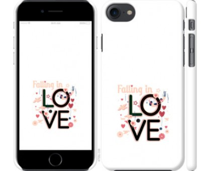 Чехол falling in love для iPhone 8 (4.7)