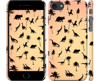 Чехол Динозаврики 1 для iPhone 8 (4.7)