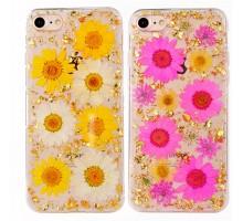 "TPU чехол ""Flowers and tinsel "" для Apple iPhone 7 / 8 (4.7"")"