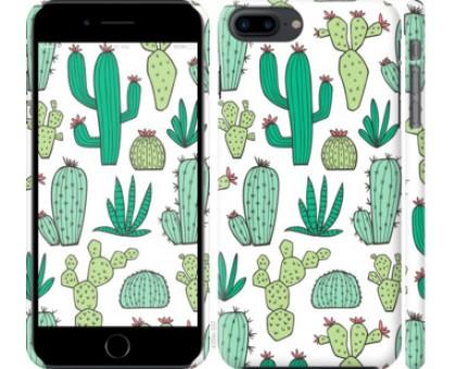 Чехол кактусы 2 для iPhone 8 Plus