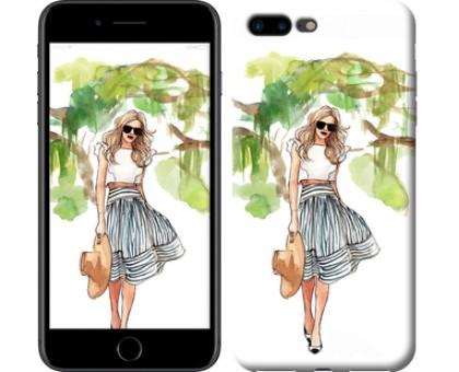 Чехол Девушка арт 2 для iPhone 8 Plus