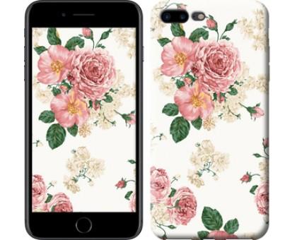 Чехол цветочные обои v1 для iPhone 8 Plus