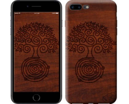 Чехол Узор дерева для iPhone 8 Plus