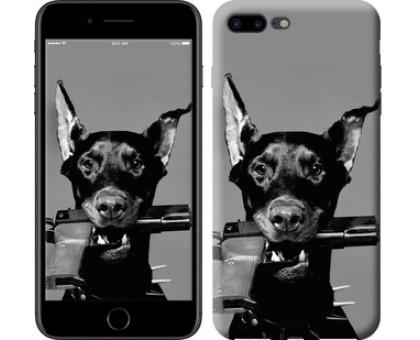 Чехол Доберман для iPhone 8 Plus