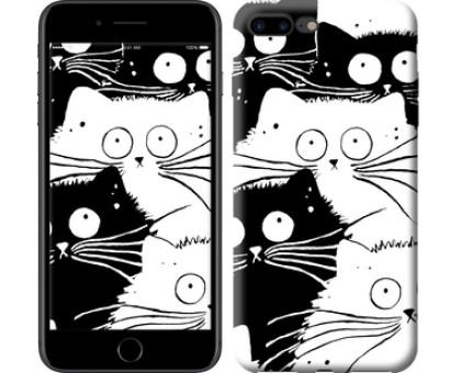 Чехол Коты v2 для iPhone 8 Plus