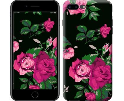 Чехол Розы на черном фоне для iPhone 8 Plus