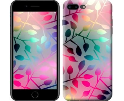 Чехол Листья для iPhone 8 Plus