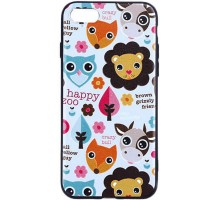 "TPU чехол Animals Print Series для Apple iPhone 7 plus / 8 plus (5.5"")"